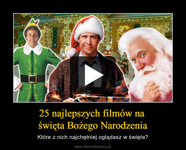 25 najlepszych filmów na święta Bożego Narodzenia – Które z nich najchętniej oglądasz w święta?