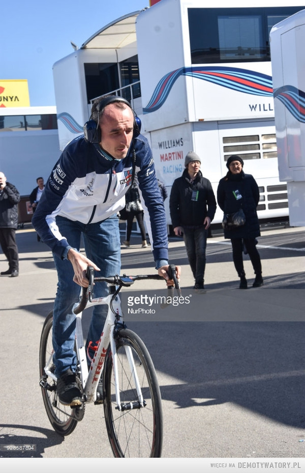 My bike is faster than FW41 –