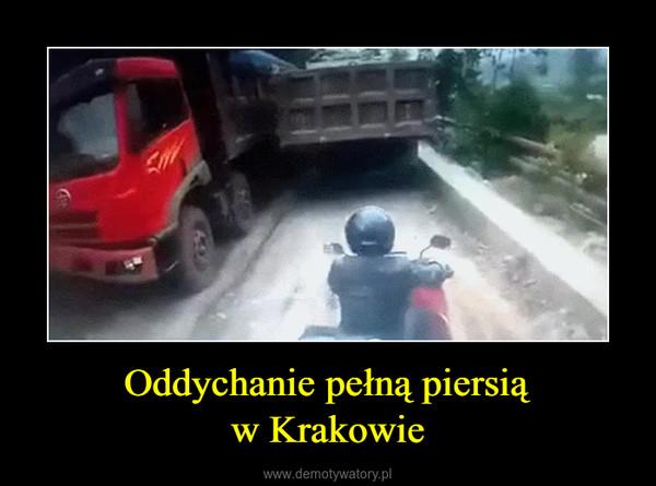 Oddychanie pełną piersiąw Krakowie –
