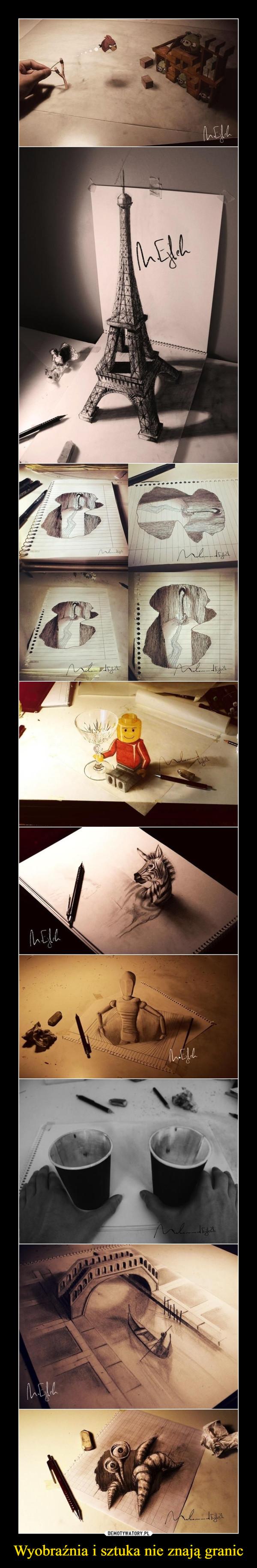 Wyobraźnia i sztuka nie znają granic –