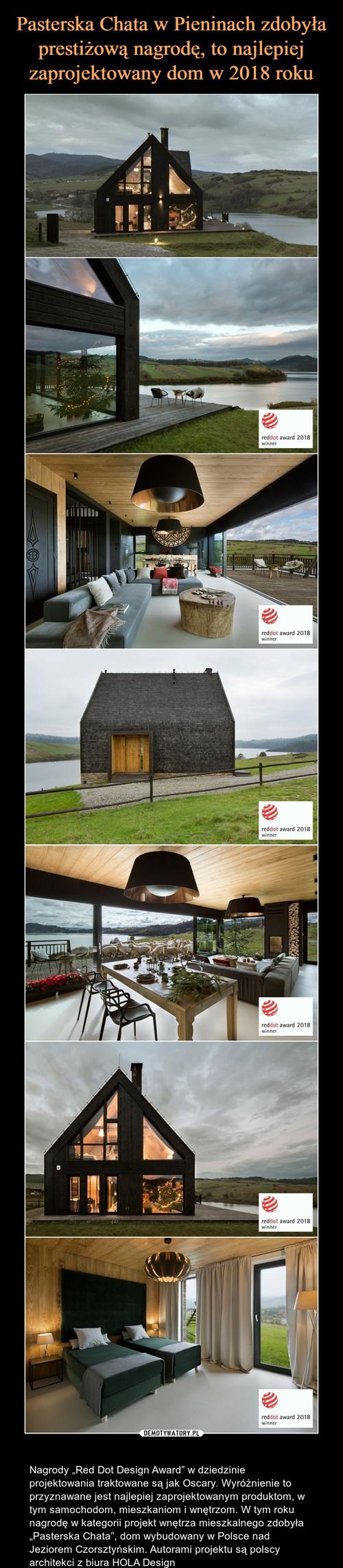 Pasterska Chata w Pieninach zdobyła prestiżową nagrodę, to najlepiej zaprojektowany dom w 2018 roku
