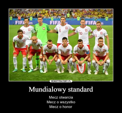 Mundialowy standard