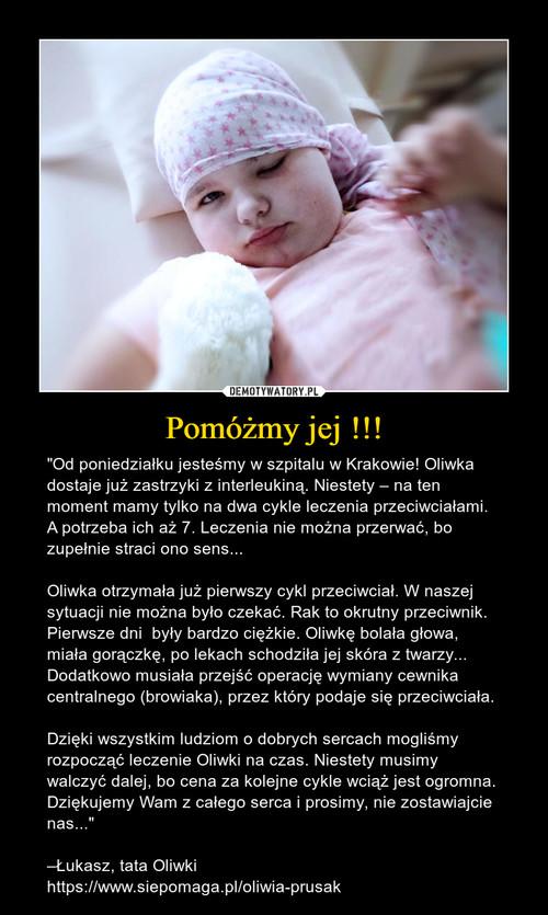 Pomóżmy jej !!!