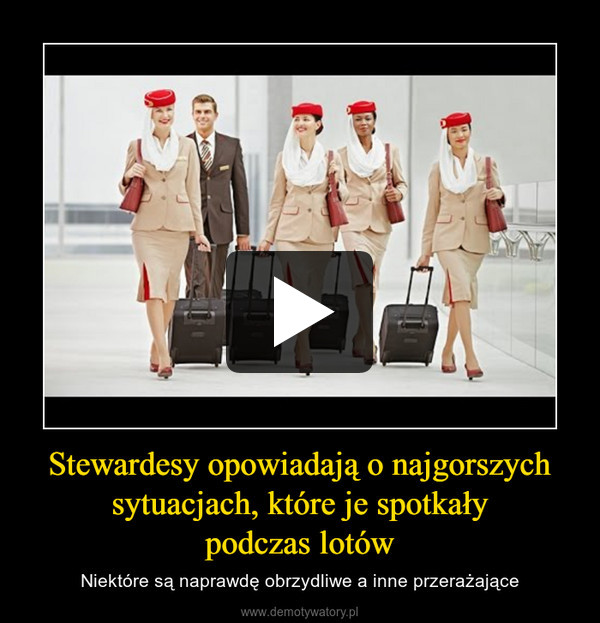 Stewardesy opowiadają o najgorszych sytuacjach, które je spotkałypodczas lotów – Niektóre są naprawdę obrzydliwe a inne przerażające