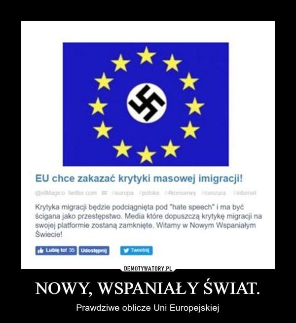 NOWY, WSPANIAŁY ŚWIAT. – Prawdziwe oblicze Uni Europejskiej