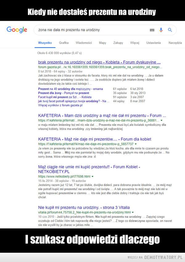 Ach te google – My faceci nie musimy mieć urodzin :)