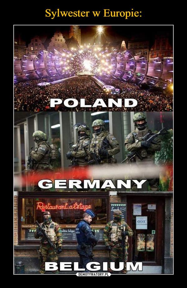 –  POLANDGERMANYBELGIUM