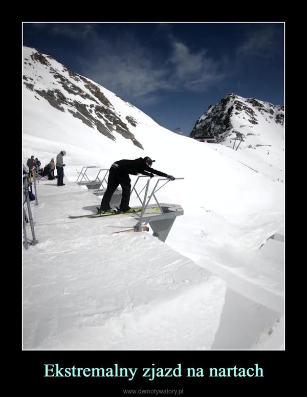 Ekstremalny zjazd na nartach –