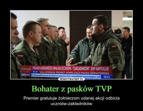 Bohater z pasków TVP