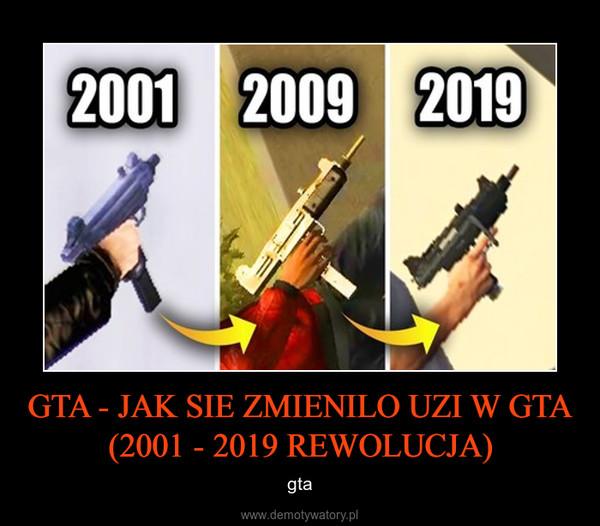 GTA - JAK SIE ZMIENILO UZI W GTA (2001 - 2019 REWOLUCJA) – gta