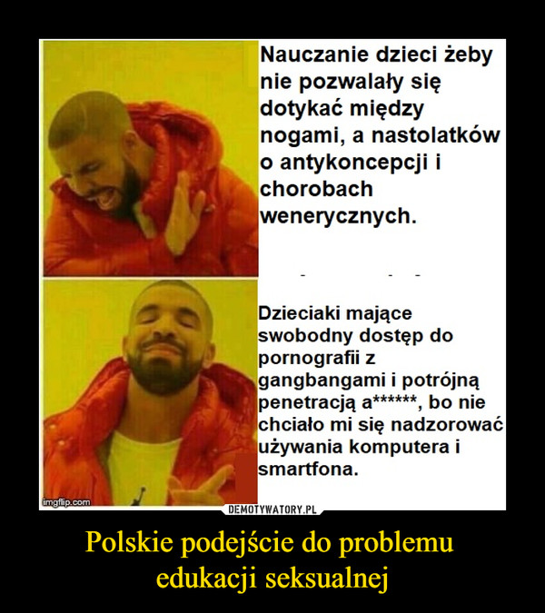 Polskie podejście do problemu edukacji seksualnej –