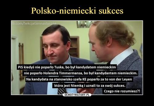 Polsko-niemiecki sukces