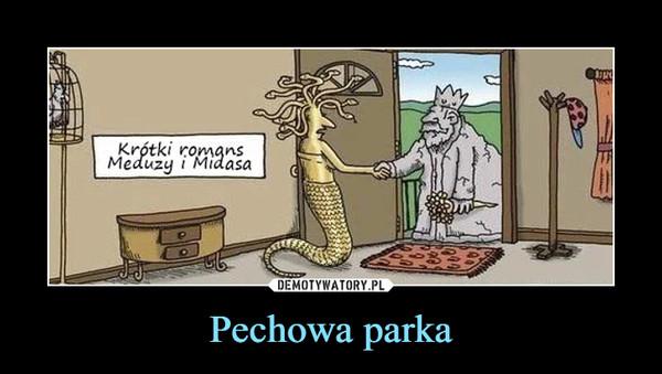 Pechowa parka –