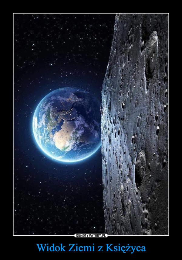 Widok Ziemi z Księżyca –