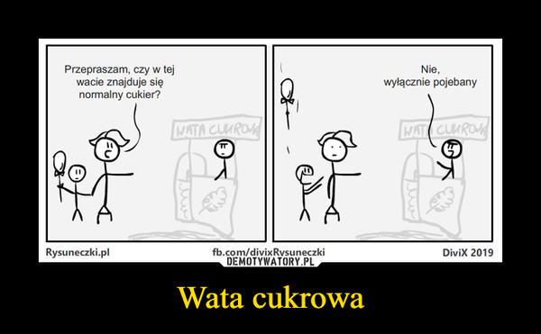 Wata cukrowa –