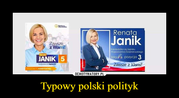 Typowy polski polityk –