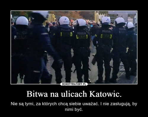Bitwa na ulicach Katowic.