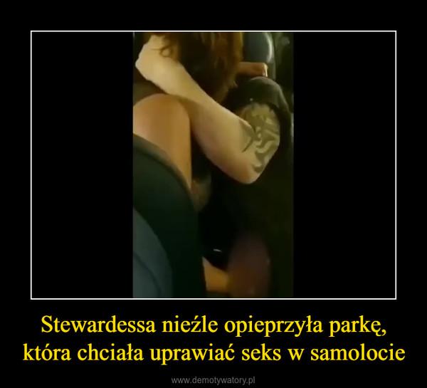 Stewardessa nieźle opieprzyła parkę,która chciała uprawiać seks w samolocie –