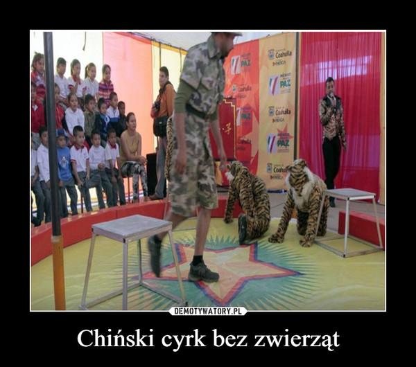 Chiński cyrk bez zwierząt –