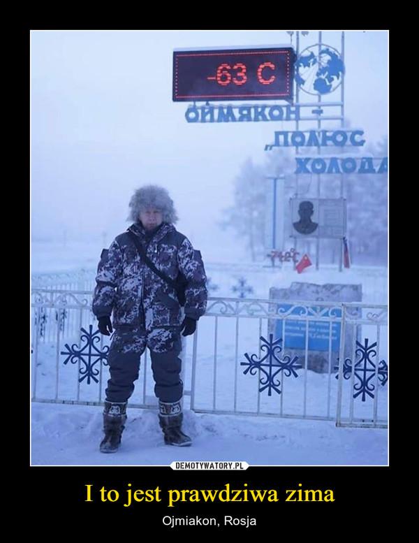 I to jest prawdziwa zima – Ojmiakon, Rosja
