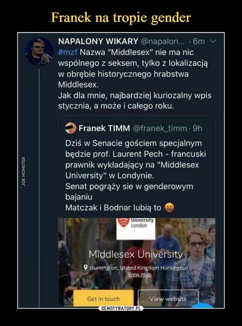 Franek na tropie gender