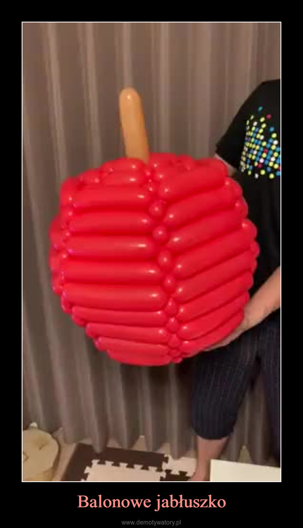 Balonowe jabłuszko –