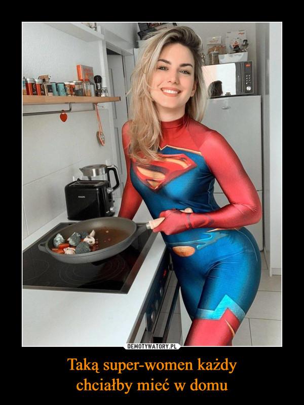 Taką super-women każdychciałby mieć w domu –