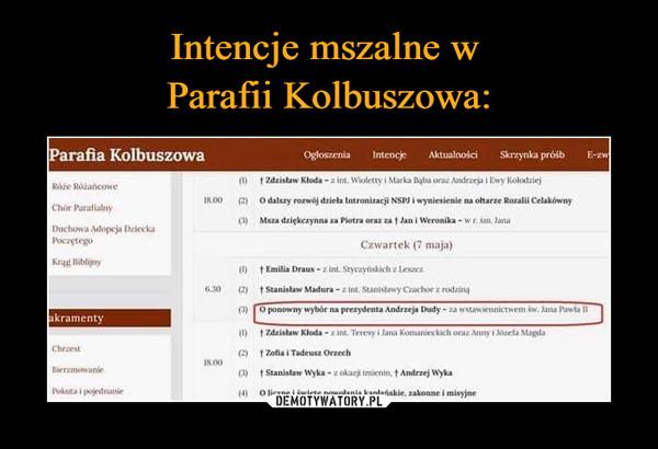 –  O ponowny wybór na prezydenta Andrzeja Dudy