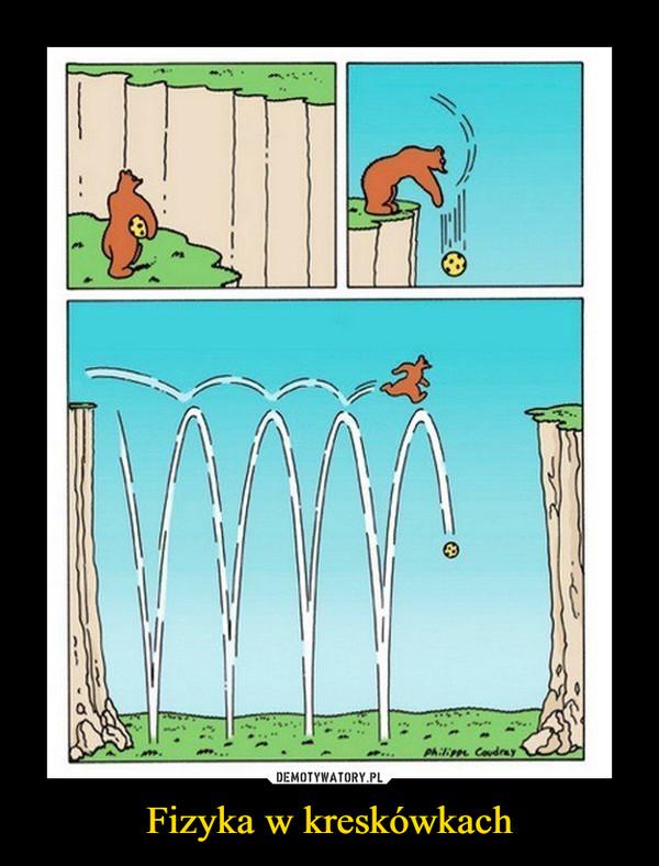 Fizyka w kreskówkach –
