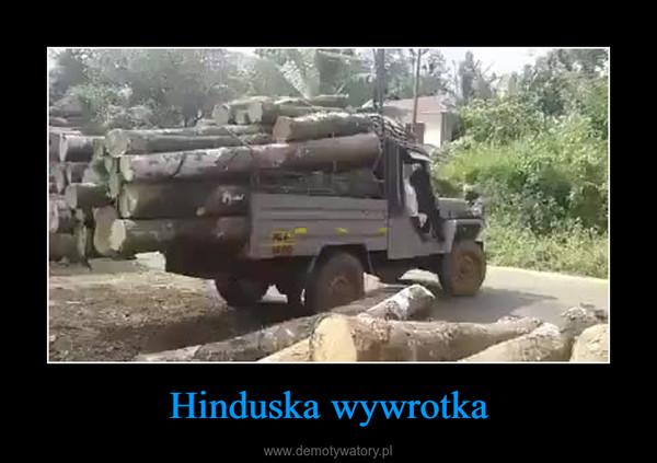 Hinduska wywrotka –