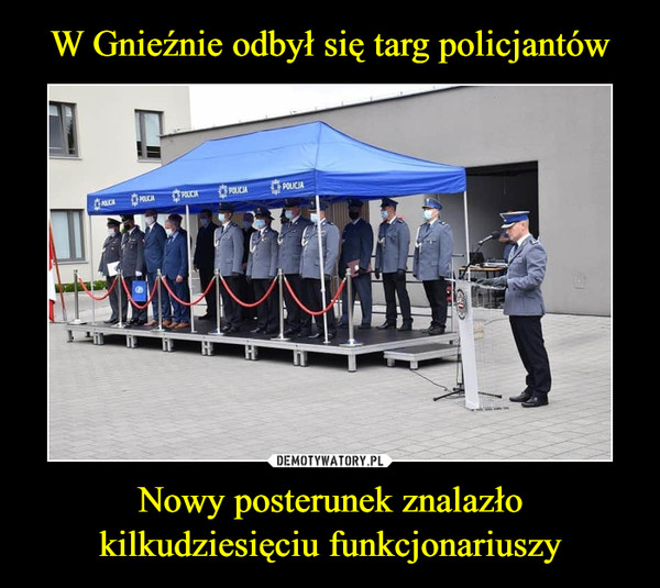 Nowy posterunek znalazło kilkudziesięciu funkcjonariuszy –