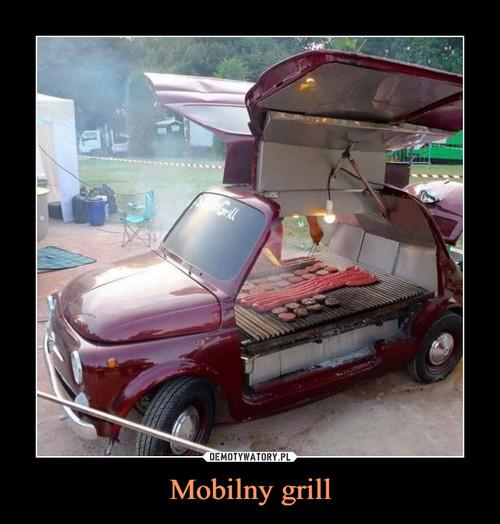 Mobilny grill