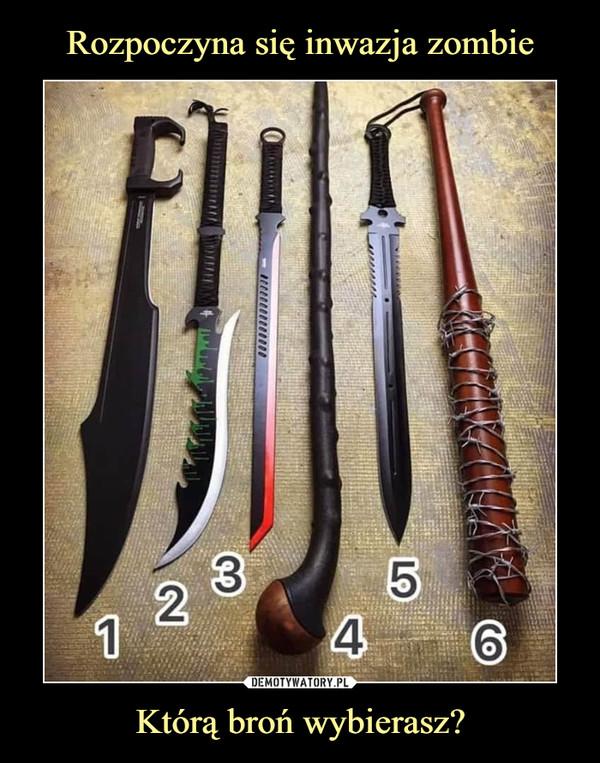 Którą broń wybierasz? –