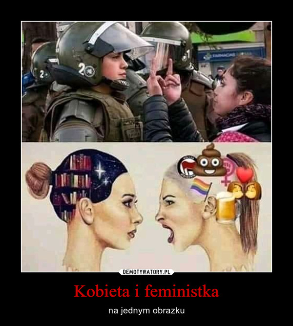 Kobieta i feministka – na jednym obrazku