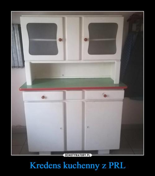 Kredens kuchenny z PRL