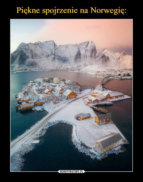 Piękne spojrzenie na Norwegię: