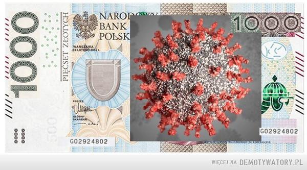 Nowy banknot 1000 złotych – Jak jest zajebiście dostawać wypłatę w jednym banknocie