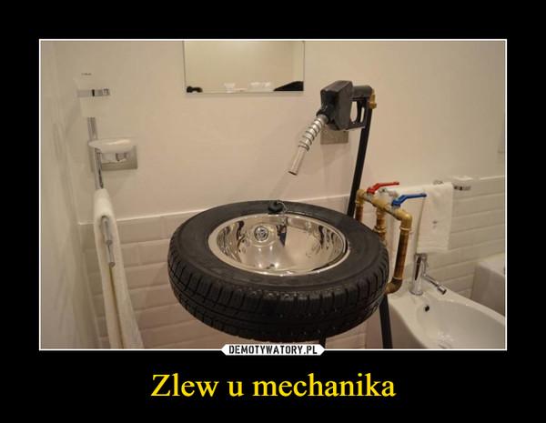 Zlew u mechanika –