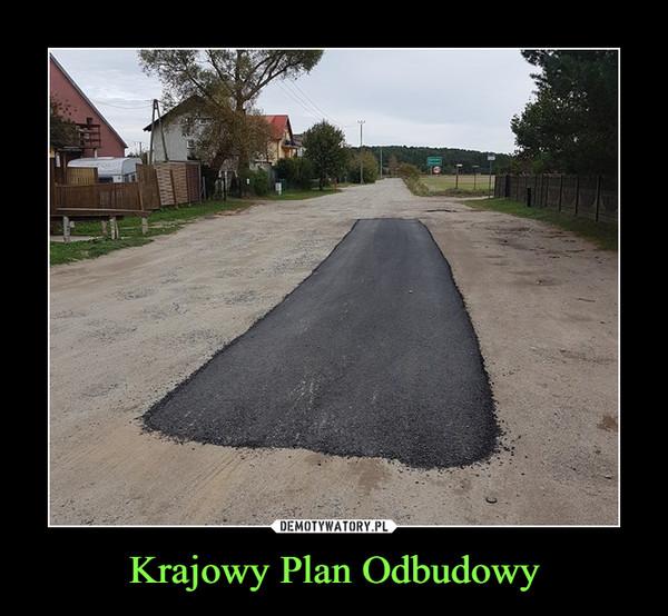 Krajowy Plan Odbudowy –