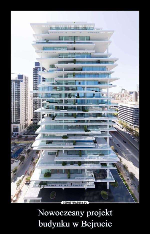 Nowoczesny projektbudynku w Bejrucie –