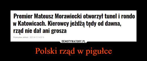 Polski rząd w pigułce