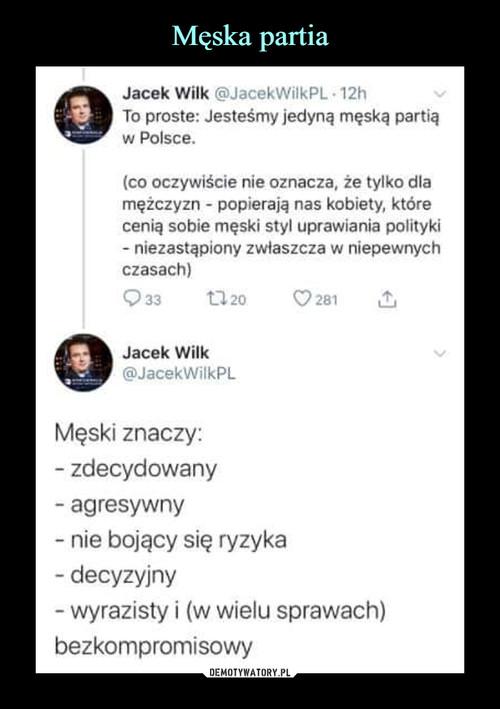 Męska partia