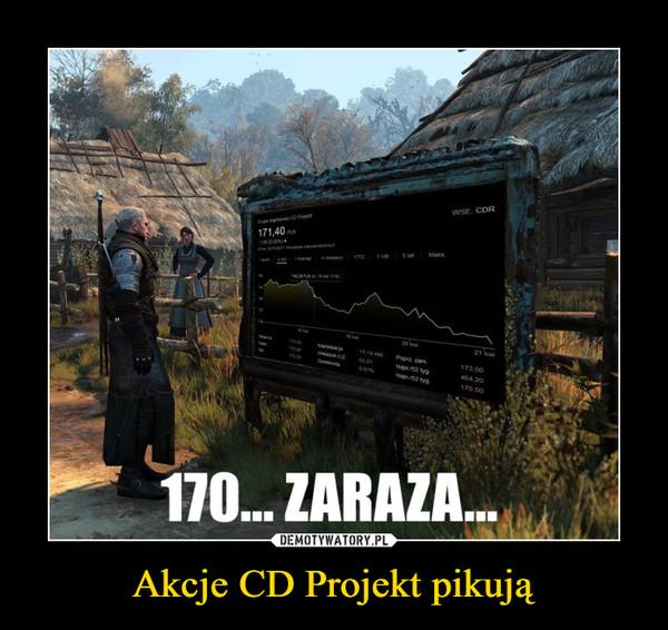 Akcje CD Projekt pikują –