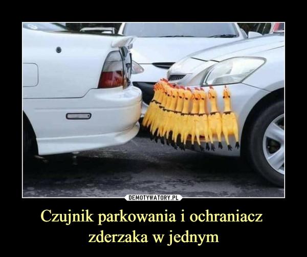 Czujnik parkowania i ochraniacz zderzaka w jednym –