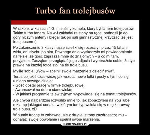 Turbo fan trolejbusów