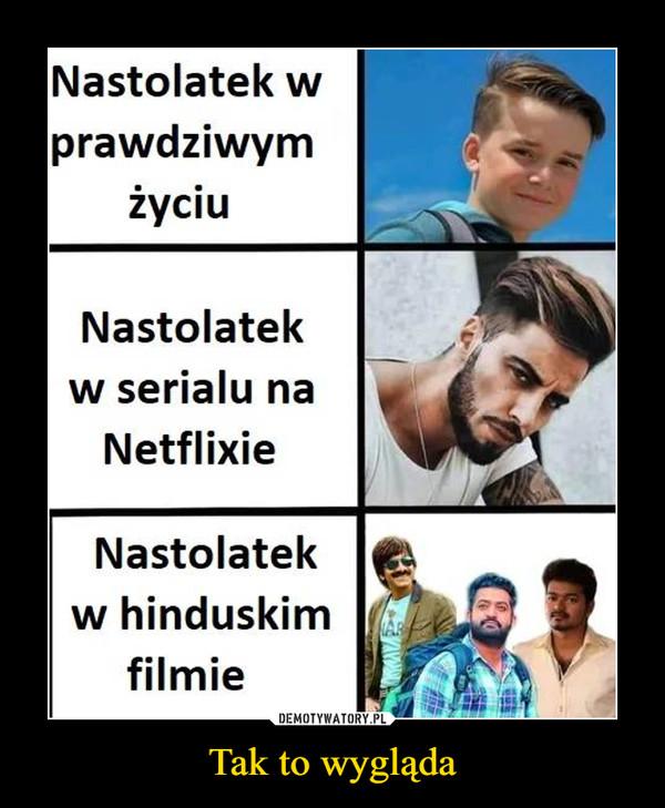 Tak to wygląda –  Nastolatek wprawdziwymżyciuNastolatekw serialu naNetflixieNastolatekw hinduskimfilmie