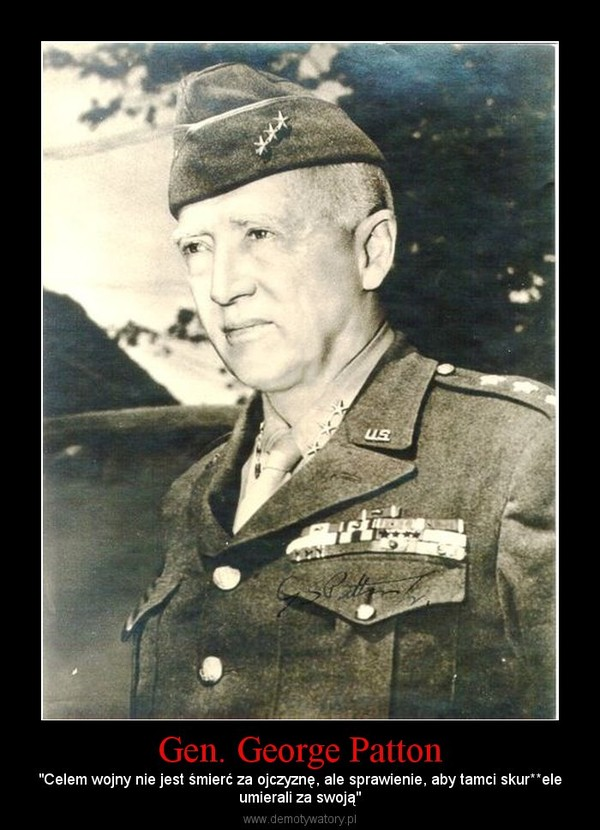 the life and military career of general george smith patton jr an american general in world war ii